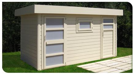 Casette in legno moderne padova venezia treviso l 39 arredo giardino - Casette da giardino in alluminio ...