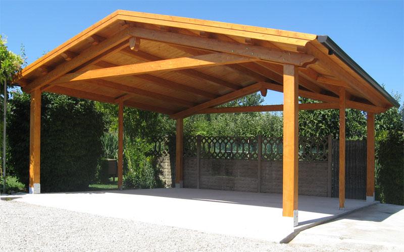 Autocover tradizionali in legno venezia padova treviso l for Arredo giardino padova
