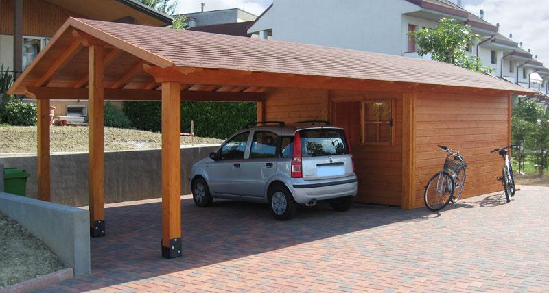 Casette in legno venezia padova treviso l 39 arredo giardino for Quanto costa costruire un garage per 3 auto