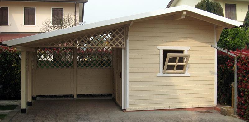 Casette in legno tradizionali venezia padova treviso l - Garage da giardino ...