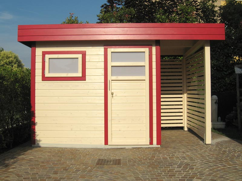 Casette Da Giardino Moderne : Casette in legno moderne padova venezia treviso l arredo giardino
