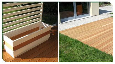Varie realizzazioni in legno venezia padova treviso l for Giardini arredo esterno