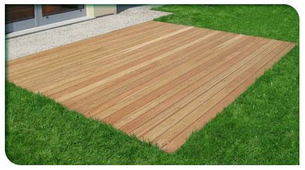 Pavimenti legno per esterni venezia padova treviso l 39 arredo giardino - Pavimento per esterno giardino ...