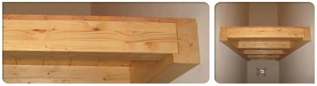 Soppalchi in legno venezia padova treviso l 39 arredo giardino for Soppalco in legno lamellare